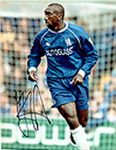 Jimmy Floyd Hasselbaink, Football, Genuine Signed Autograph (06)